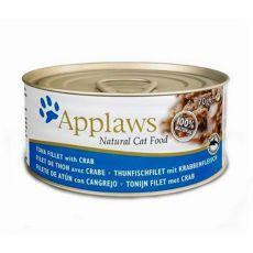 Applaws Cat – konserwa dla kotów z tuńczykiem i rakiem, 70g