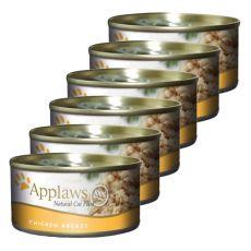 Applaws Cat – konserwa dla kotów z kurczakiem, 6 x 70g