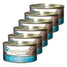 Applaws Cat –konserwa dla kotów z tuńczykiem, 6 x 70g