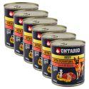 Konserwa ONTARIO dla psów, wołowina, ziemniaki i olej - 6x800g