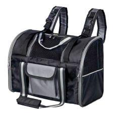 Plecak do noszenia psów i kotów, Marvin - czarny, 42x21x29 cm