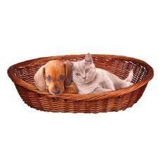 Pleciony koszyk - legowisko dla psów lub kotów - 50 cm