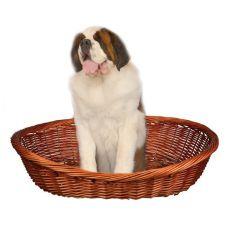 Pleciony koszyk dla psa - 120 cm