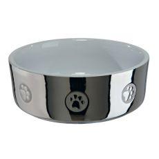Ceramiczna miska, srebrna - 0,3 l