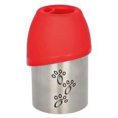Podróżna butelka z miską dla psów, 300 ml