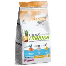 Trainer Fitnes3 Puppy & Junior MEDIUM MAXI - fish and rice 12,5kg