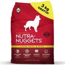 NUTRA NUGGETS Lamb & Rice 15 kg + 3kg GRATIS