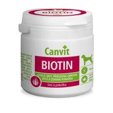 Canvit Biotin - preparat na zdrową i błyszcząca sierść, 100g