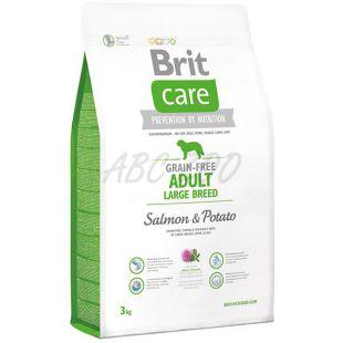 Brit Care Grain-free Adult Large Breed Salmon & Potato 3kg