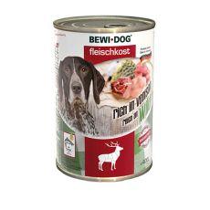 Konserwa New BEWI DOG – z dziczyzną, 400g