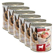 Konserwa New BEWI DOG – z jagnięciną - 6 x 800g, 5+1 GRATIS