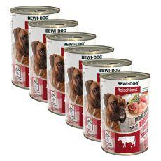 Konserwa New BEWI DOG – podroby wołowe - 6 x 400g, 5+1 GRATIS