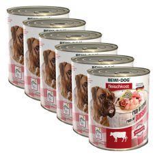 Konserwa New BEWI DOG – podroby wołowe - 6 x 800g