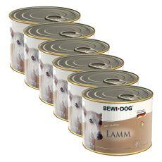 Pasztet Bewi dog - z jagnięciną - 6 x 200g, 5+1 GRATIS