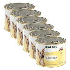 Pasztet Bewi dog - z kurczakiem - 6 x 200g, 5+1 GRATIS