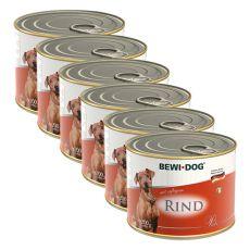 Pasztet Bewi dog – wołowina- 6 x 200g, 5+1 GRATIS