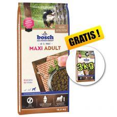 Bosch ADULT MAXI - 15kg + 3kg GRATIS