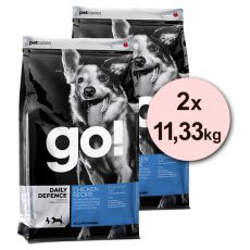 Petcurean GO! Daily Defence - 2 x 11,33kg