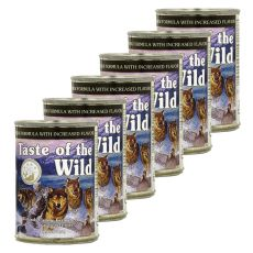 TASTE OF THE WILD Wetlands Canine - konserwa, 6 x 390g