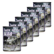 TASTE OF THE WILD Sierra Mountain Canine - konserwa, 6 x 390g