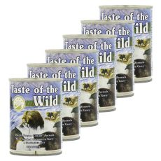 TASTE OF THE WILD Pacific Stream Canine - konserwa, 6 x 390g