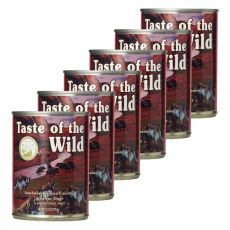 TASTE OF THE WILD Southwest Canyon Canine - konserwa, 6 x 390g