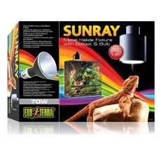 Halogenowe oświetlenie do terrarium EXO TERRA SUNRAY - 70W