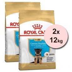 ROYAL CANIN  OWCZAREK NIEMIECKI JUNIOR, 2 x 12 kg