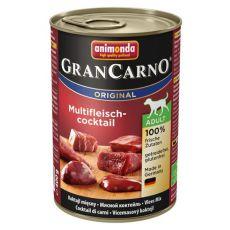 Konserwa dla psów GranCarno Original Adult koktail mięsny - 400g