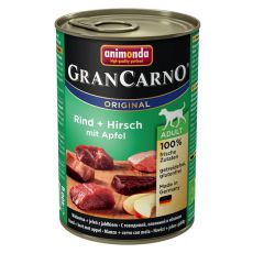 Konserwa GranCarno Fleisch Adult jelenina + jabłko - 400 g