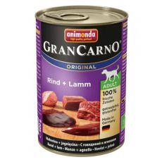 Konserwa GranCarno Original Adult z wołowiną i jagnięciną - 400 g