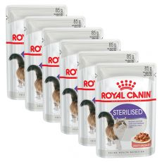 Royal Canin STERILISED 6 x 85 g - saszetka