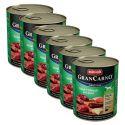 Konserwa GranCarno Fleisch Adult jelenina + jabłko - 6 x 800 g