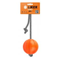 Zabawka do rozciągania ze sznurkiem dla psa - LIKER - 7cm