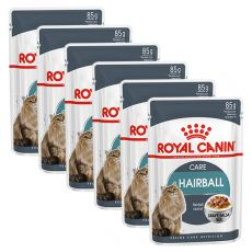 Royal Canin HAIRBALL CARE - saszetka 6 x 85g