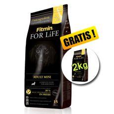 Fitmin FOR LIFE Adult Mini 15+2 kg GRATIS