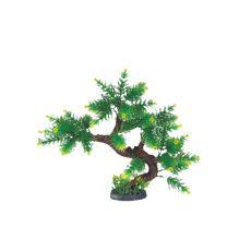Plastikowa roślina do akwarium  KB – 021 - 22 x 5 x 24 cm