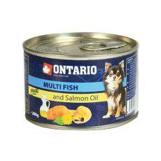 Konserwa ONTARIO Multi Fish z olejem z łososia – 200g