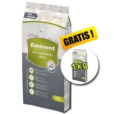 Eminent Cat Light / Sterile 10 kg + 1 kg Gratis