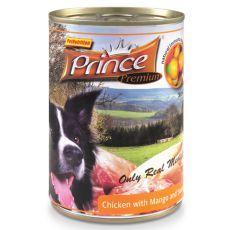 Konserwa Premium PRINCE – kurczak z mango i słodkimi ziemniakami 400g