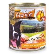 Konserwa premium PRINCE – kurczak z mango i słodkimi ziemniakami 800g