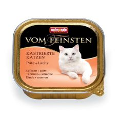 Animonda Vom Feinsten Castrated Cats - indyk + łosoś 100g