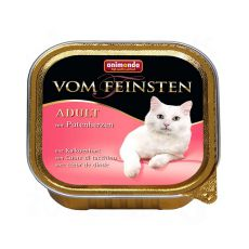 Animonda Vom Feinsten Adult Cats - z sercem z indyka 100g
