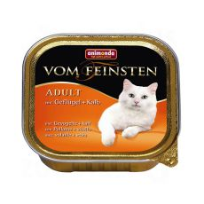Animonda Vom Feinsten Adult Cats - drób i cielęcina 100g