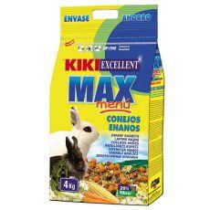 KIKI EXCELLENT MAX MENU - karma dla królików karłowatych 4kg