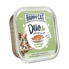 Happy Cat DUO MENU - kurczak i jagnięcina, 100g