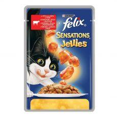 Felix Sensations - wołowina z pomidorami w galarecie, 100 g