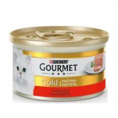Konserwa Gourmet GOLD - pasztet z wołowiny, 85g