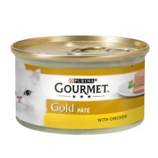 Konserwa Gourmet GOLD - pasztet z misa z kurczaka, 85g