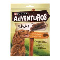 Purina ADVENTUROS Sticks - bizon 4 szt., 120g